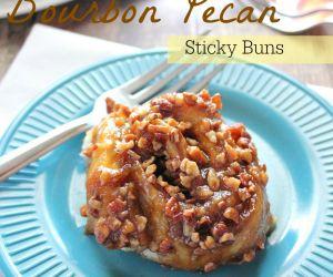 Bourbon Pecan Sticky Buns