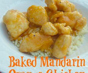 Baked Mandarin Orange Chicken