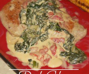 Pork Chops with a Mustard Kale Sauce