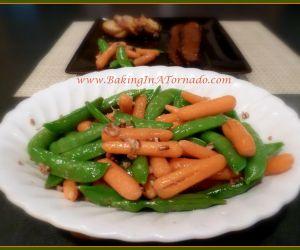 Delicious Snap Peas & Carrots