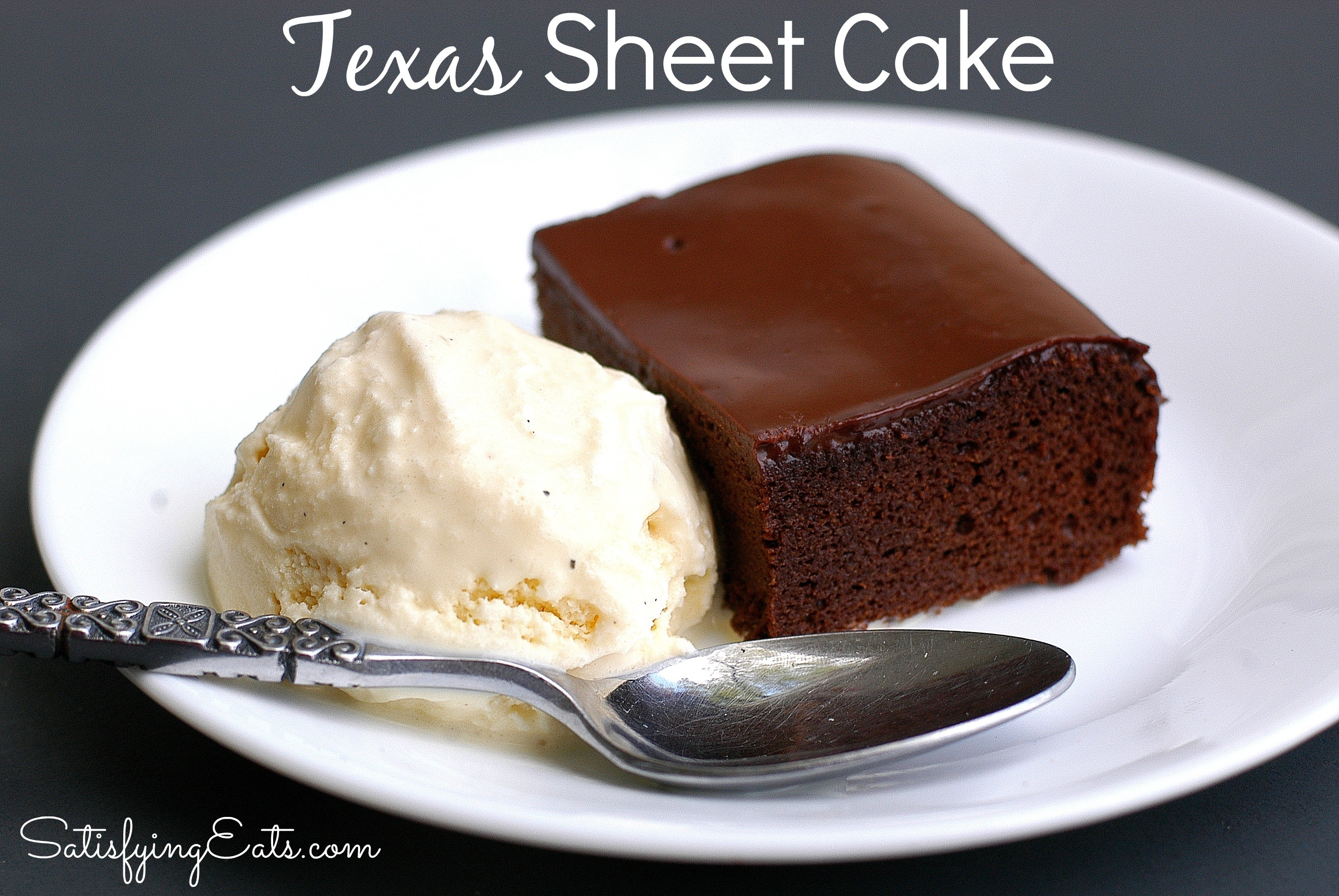 Orange Texas Sheet Cake Recipe