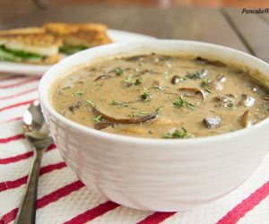 Best Ever Mushroom Soup