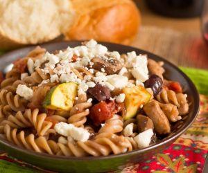 Greek Pasta Toss