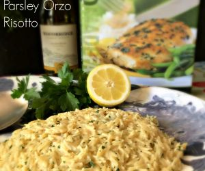 Lemon and Parsley Orzo Risotto