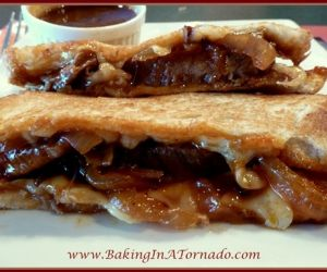 Crock Pot BBQ Beef Grilled Cheese
