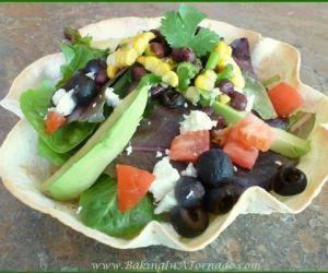 Summer Salad Tostada