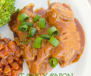 Savory Slow Cooker Pork Ribs with Mushrooms