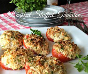 Roasted Stuffed Tomatoes