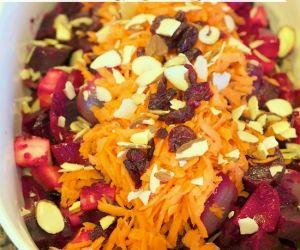 Roasted Parsnip & Beet Salad