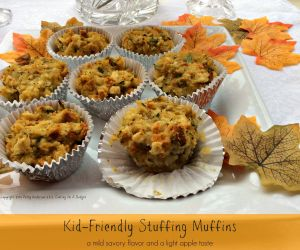Kid-Friendly Stuffing Muffins