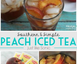 Southern Peach Iced Tea