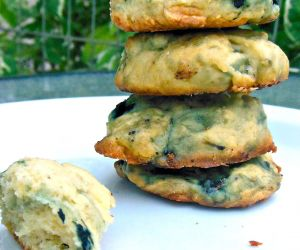 Blueberry Chocolate Chip Cookies