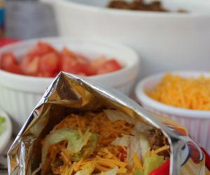 Walking Tacos - Bagged Frito Taco Dinner