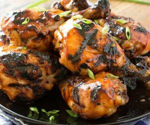 Maple Glazed Chicken Drumsticks
