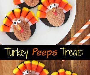 Turkey Peeps Treats