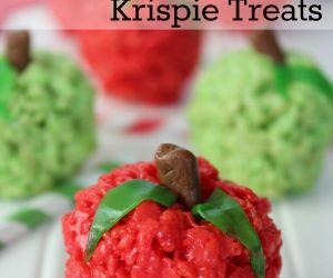 Apple Rice Krispie Treats Recipe