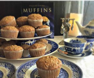 Carrot Nut Muffins
