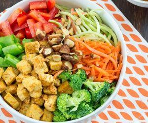 Orange Tofu Buddha Bowl