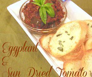 Eggplant & Sun Dried Tomato Spread