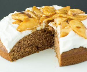 Apple Spice Cake (Reduced Sugar)