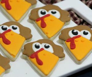 Turkey Sugar Cookies
