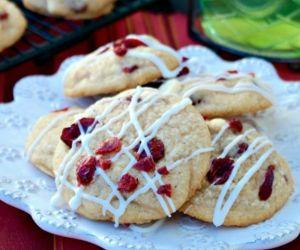 Macadamia Cranberry White Chocolate Cookies
