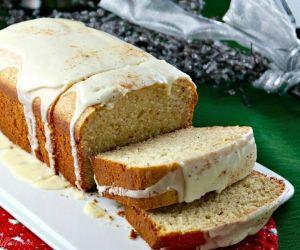 Holiday Eggnog Bread