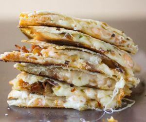 Easy Quesadilla Shrimp and Bacon Recipe