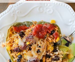 Spanish Stuffed Peppers