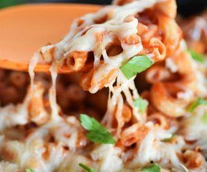 Manwich Chicken Pasta Skillet