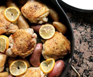One Pot Lemon Chicken and Potatoes