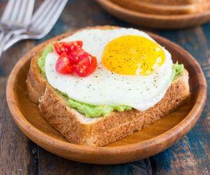 Fried Egg and Avocado Toast