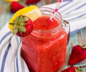 Frozen Strawberry Lemonade