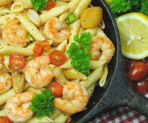 Cast Iron Cajun Seafood Pasta