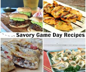 Savory recipes for game day
