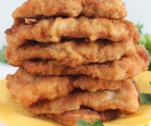 Lemon fried chicken breast