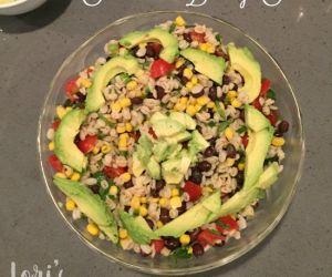 Southwest Barley Salad with fresh Tomatoes