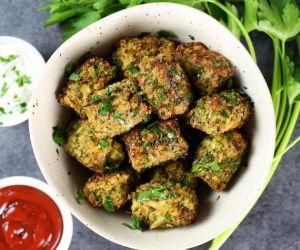 Baked Veggie Quinoa Tots