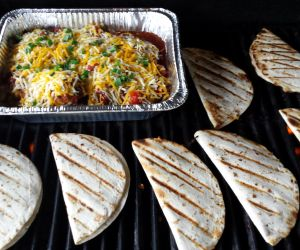 Mexican Chicken & Grilled Quesadilas