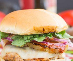 Tacos el Pastor Burger