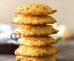 Garlic Cornbread Drop Biscuits