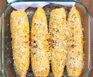 Cheesy Ranch Corn on the Cob