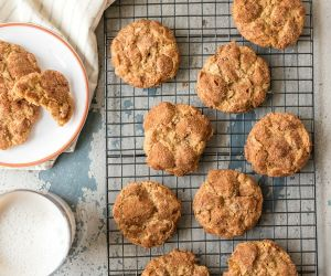 Oatmeal Chocolate Chip Crinkles