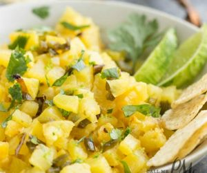 Roasted Pineapple Salsa Recipe