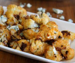 Buffalo Cauliflower, Oven Roasted Not Fried