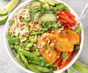Thai Fish Noodle Bowl
