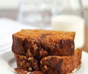 Pumpkin Cinnamon Pecan Loaf