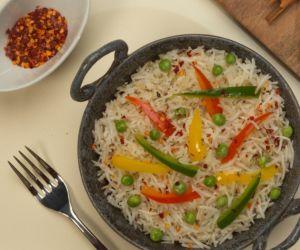 Smoked Vegetable Pilaf Recipe