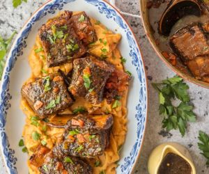 Honey Bourbon Short Ribs