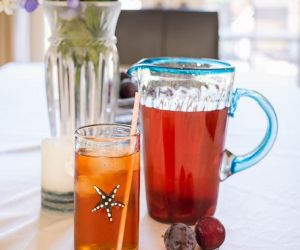 Plum Infused Iced Tea